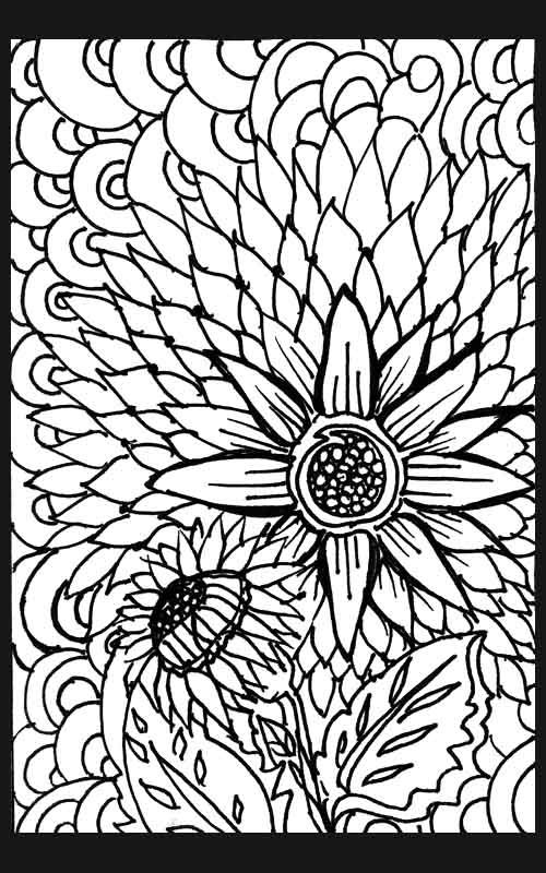 paisley design coloring pages animals free coloring pages starburst flower - Coloring Patterns Pages