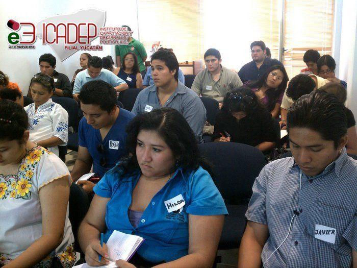 Curso en ICADEP Yucatan.