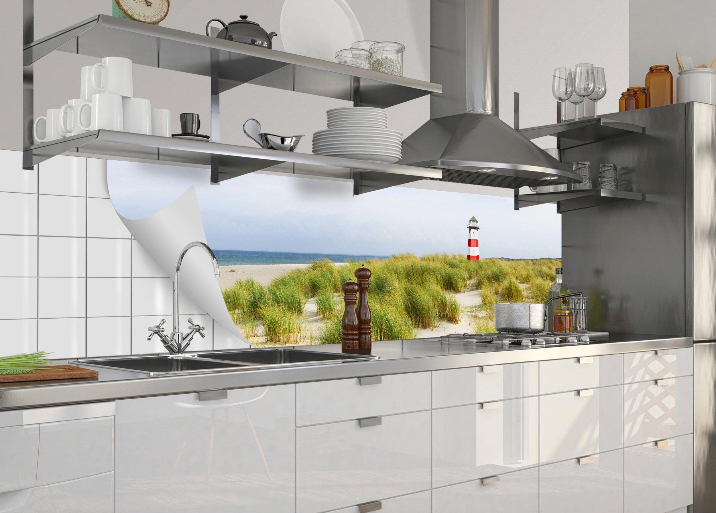 Küchenrückwand »fixy Nordseestrand«