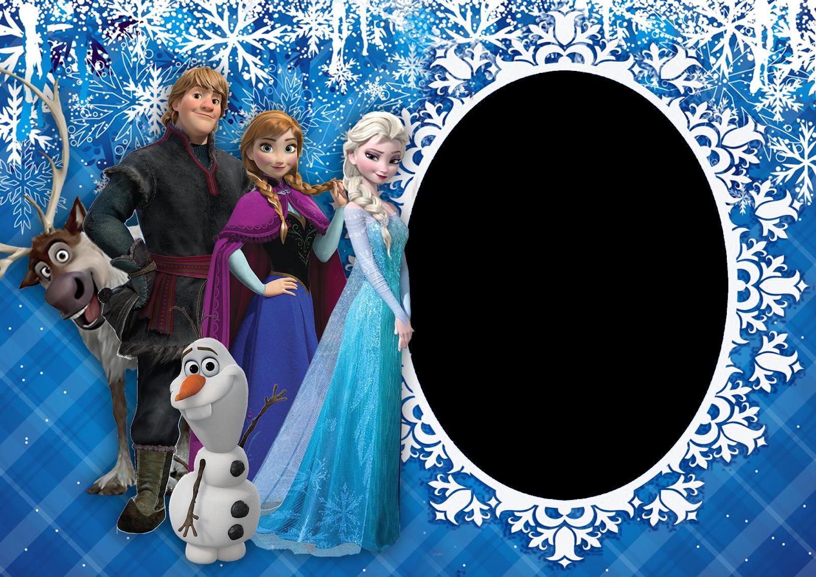 Artes da Festa Moldura do Frozen Molduras, Frozen, Festa