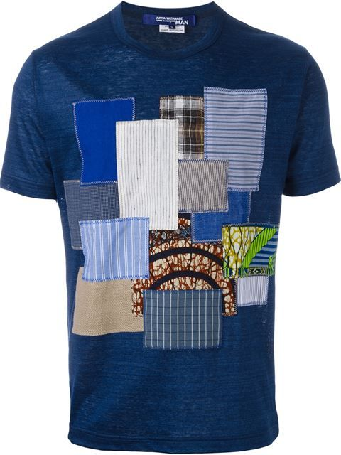 Shop Junya Watanabe Comme Des Garçons Man patchwork T-shirt in Nike - Via  Verdi from the world s best independent boutiques at farfetch.com. c6a244fee07