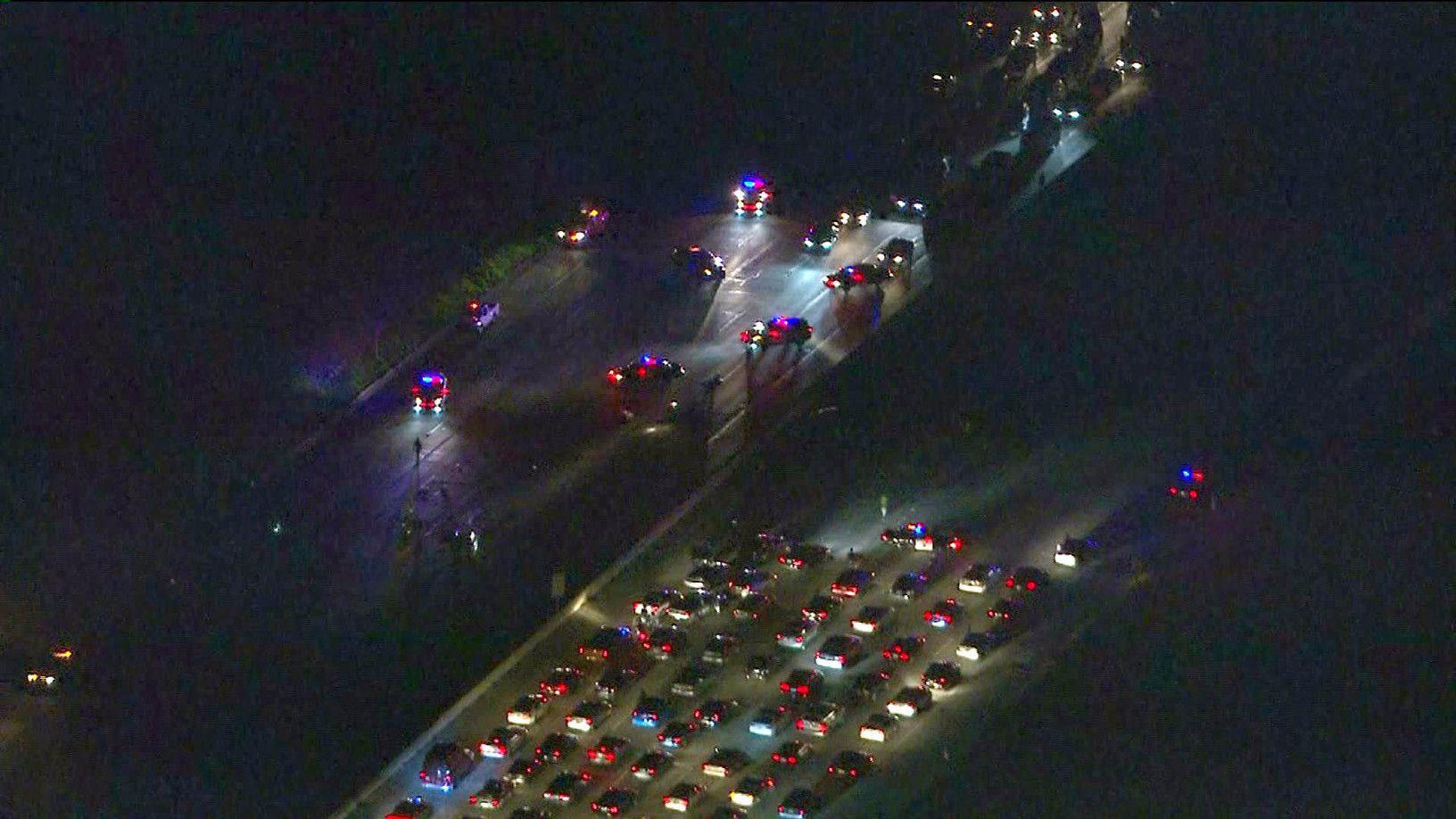 Chain Reaction Crash on 405 Freeway Kills Los Angeles ...