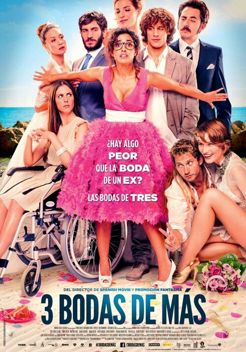 3 Bodas De Mas Comedia Española Muy Buena 09 02 2015 Cine