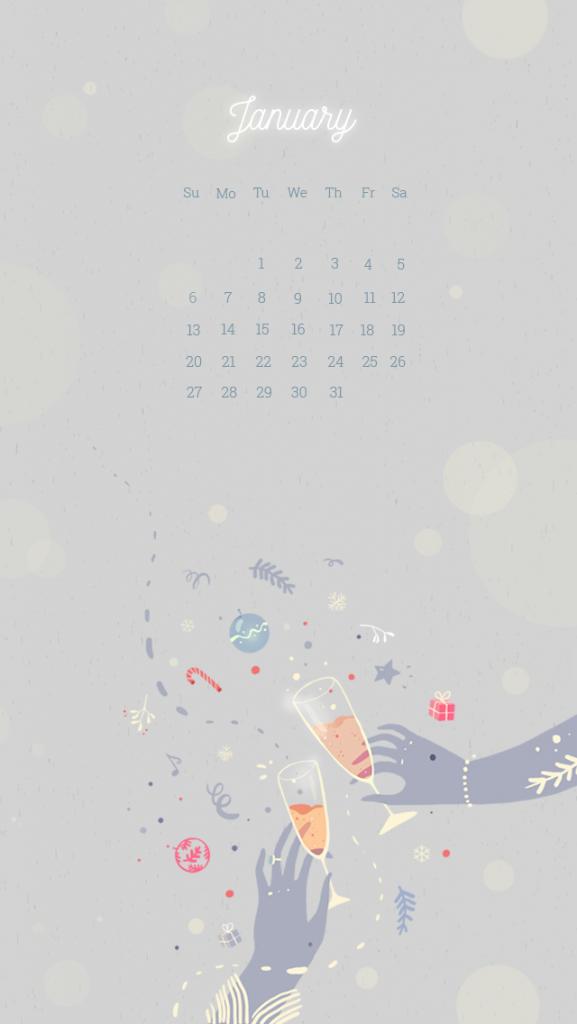 New Year January 2020 Iphone Wallpaper Calendar Wallpaper Iphone Wallpaper February Wallpaper
