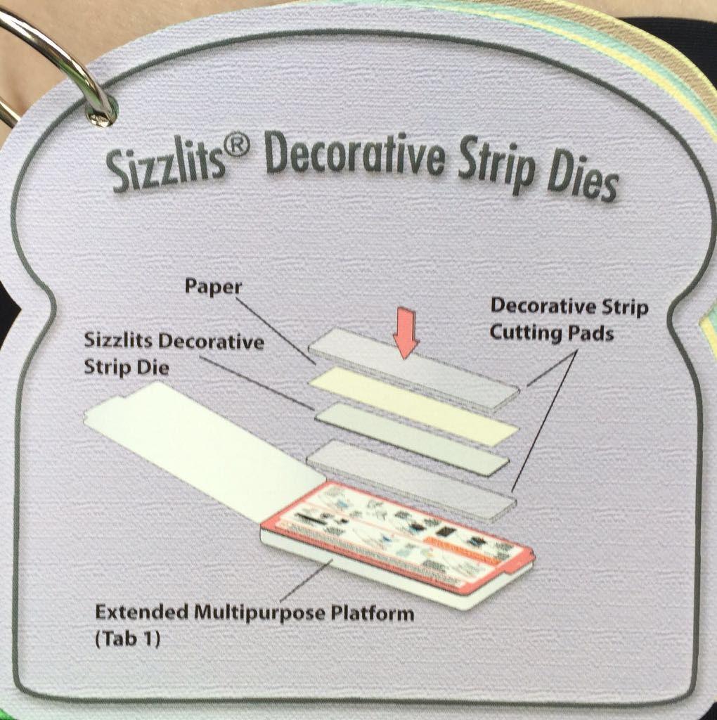 Sizzix Tips #6 of 13 Sizzlits Decorative Strip Dies | Big ...