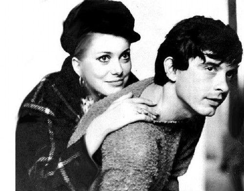 Catherine Deneuve & David Bailey