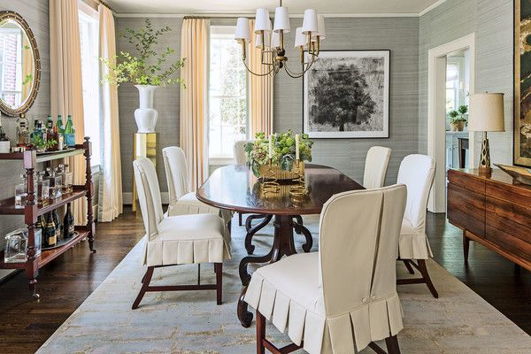 The Editor\'s Editor: Signature Southern Home | Dining Rooms | Pinterest
