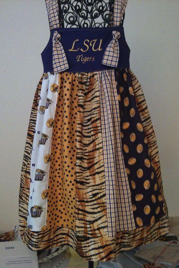 LSU Tigers scrap dress