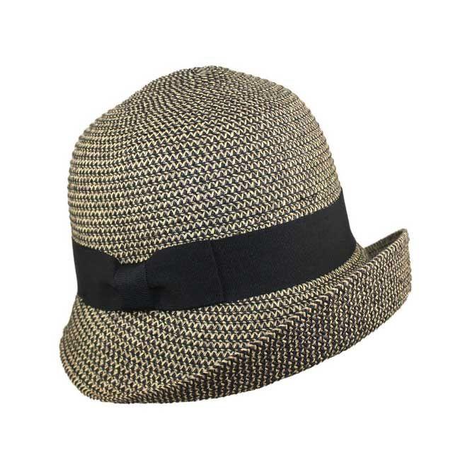 ddd8dc69b4078 Jeanne Simmons - Upturn Tweed Cloche Hat