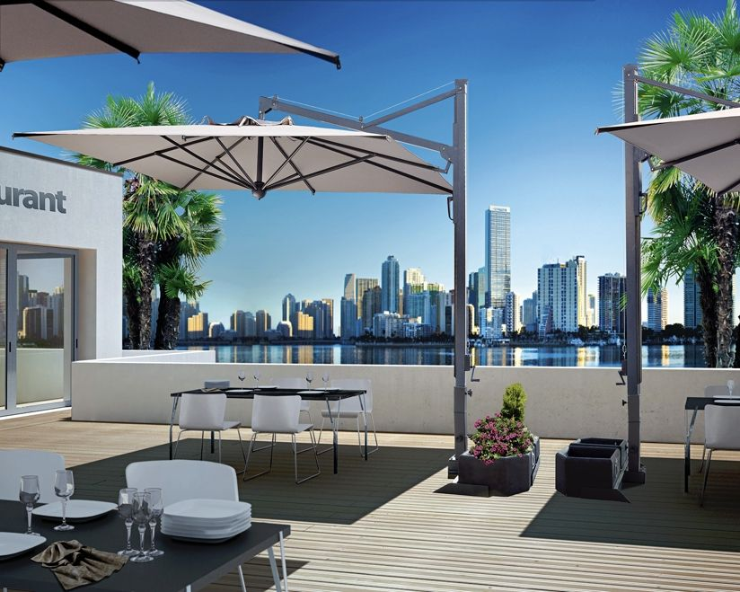 ampelschirme die haus pinterest sonnenschirm sonnenschirm terrasse und schirm. Black Bedroom Furniture Sets. Home Design Ideas