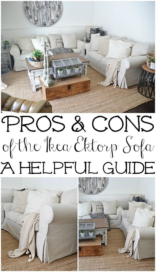 Ikea Slipcover Sofa Review   Honest Opinions 3 Years Later | Projekty |  Pinterest | Ektorp Sofa, Slipcover Sofa And Living Rooms