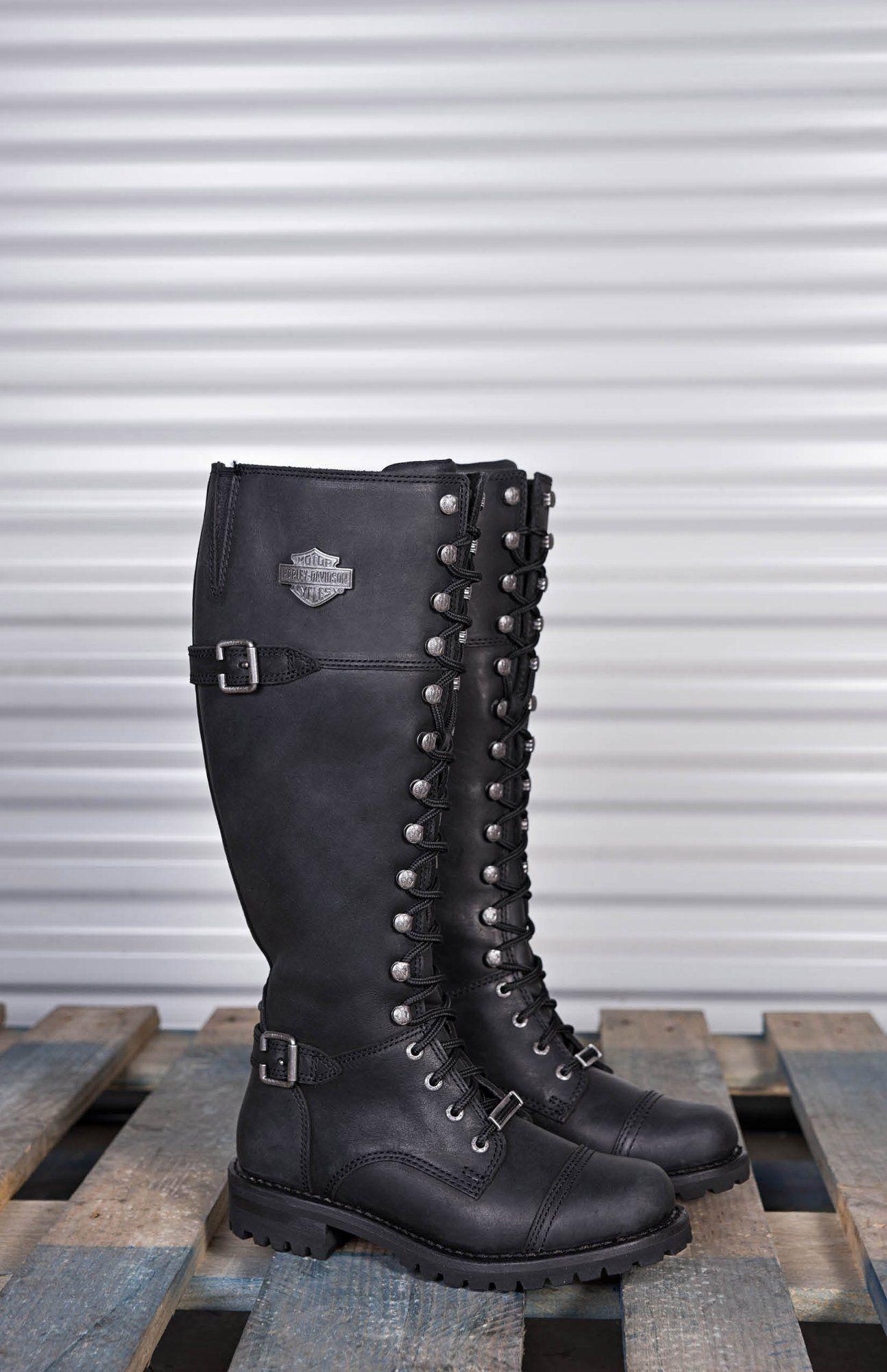 HARLEY DAVIDSON Women Boots ADRIAN black