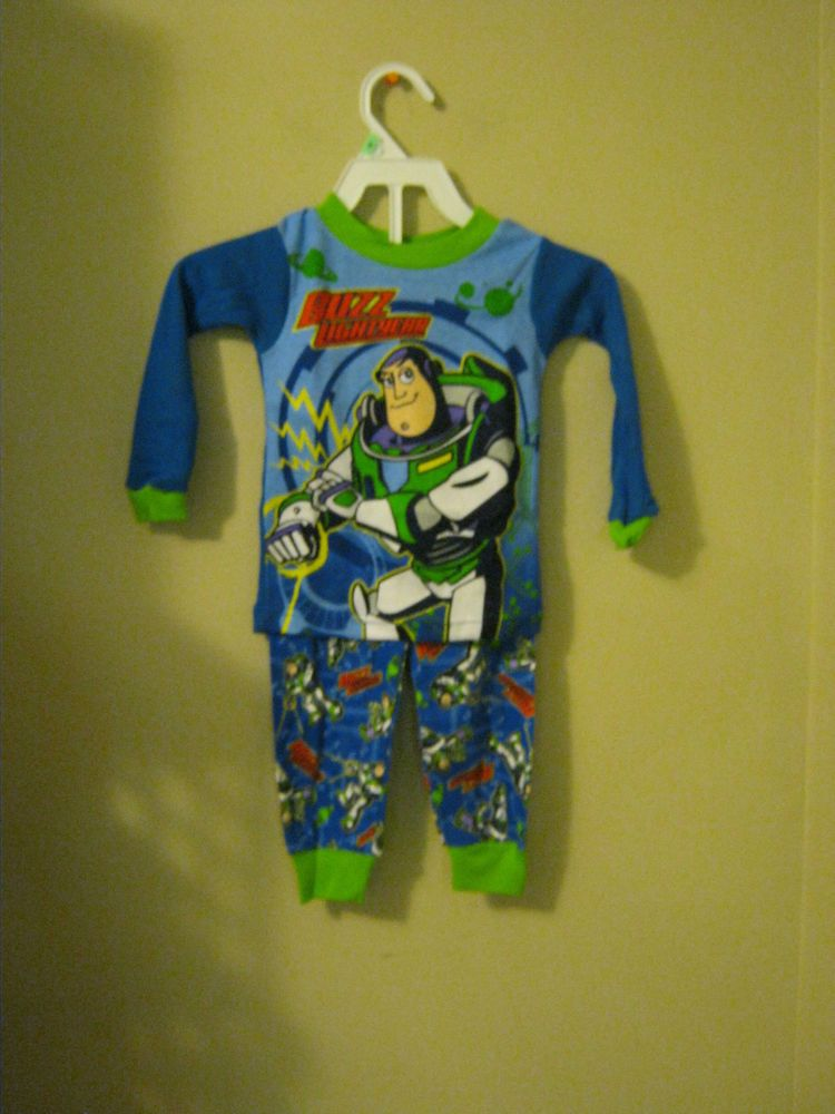 6fb28520e new boys Disney Pixar Toy Story Buzz LightYear pajama set 2 pc sleep wear  18 mon #DisneyPixar #TwoPiece