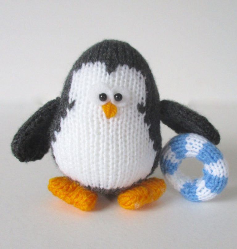 Penguin Knitting Patterns Knitting Patterns Penguins And Toy