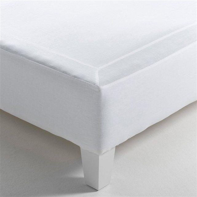 cache sommier forme housse gram pur lin lav am pm furniture pinterest. Black Bedroom Furniture Sets. Home Design Ideas