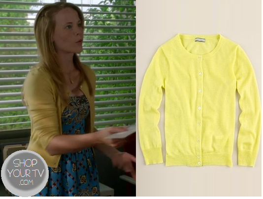 Shop Your Tv: Switched at Birth: Season 2 Episode 14 Daphne's Yellow Cardigan