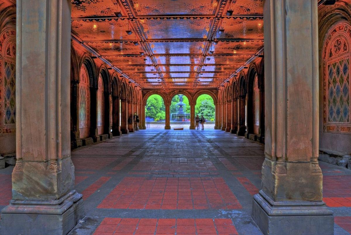 central park ny   Passeio no Central Park - Arquitetura - Explorando Pontes e Arcos