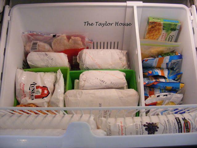 How To Organize A Bottom Drawer Freezer Freezer Organization