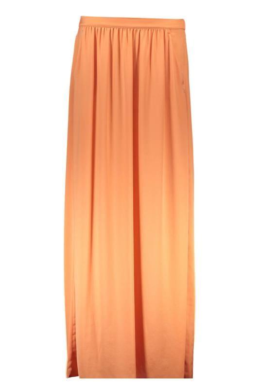 Gonna Donna Liu Jo (BO-W65131 T8185 61435) colore Arancio