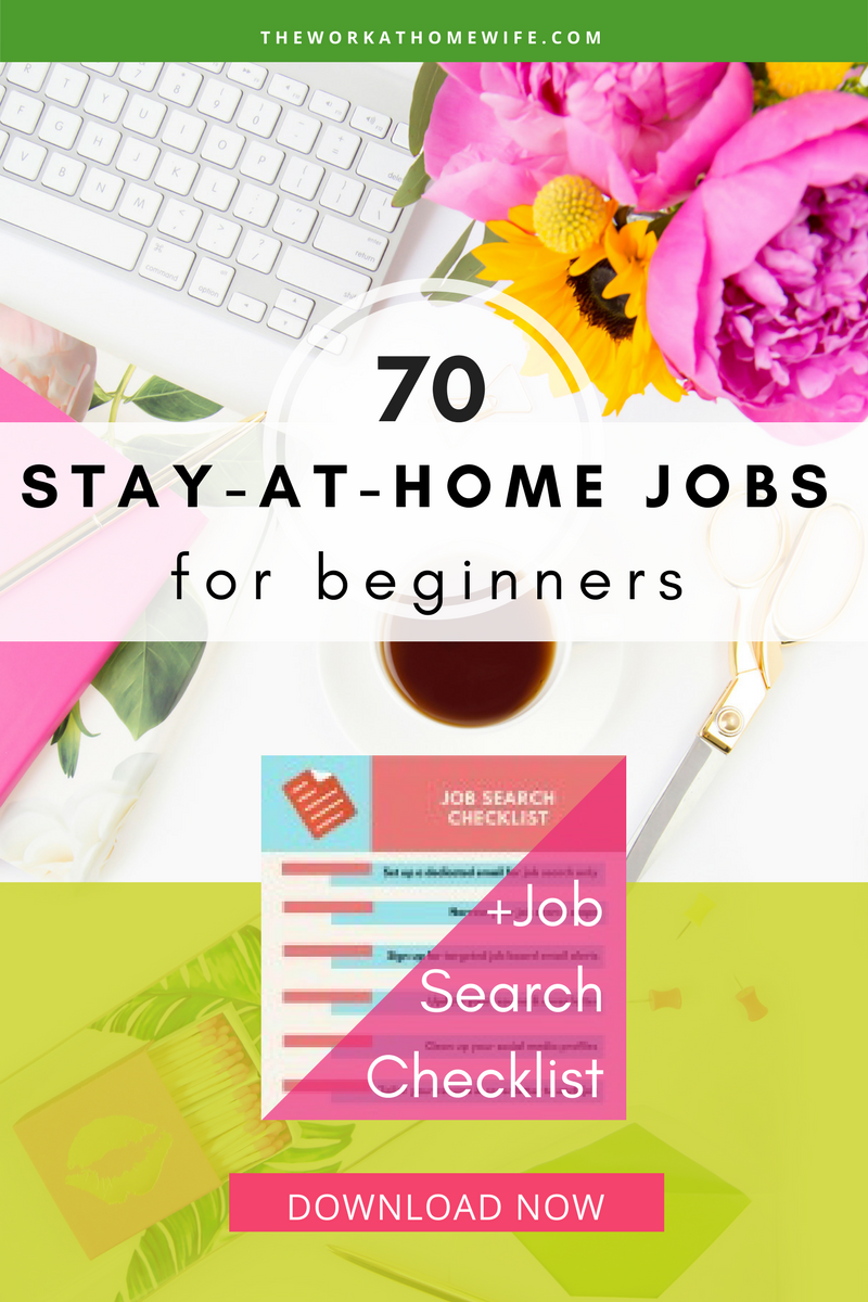 Stay-at-Home Jobs for Beginners: Where to start when you\'re starting ...