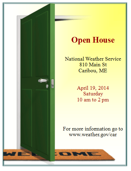 open house flyers template