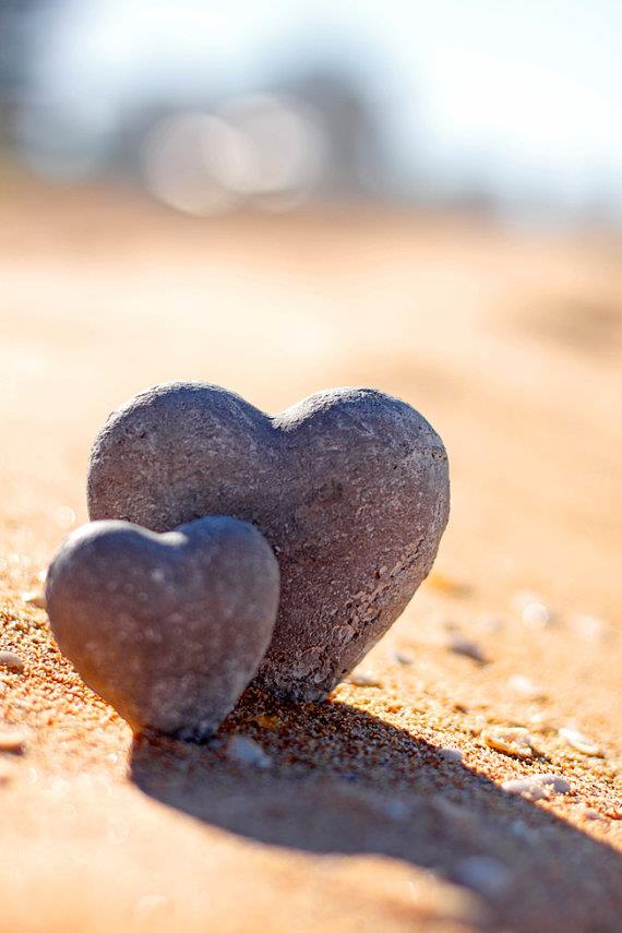 .hearts in the sand