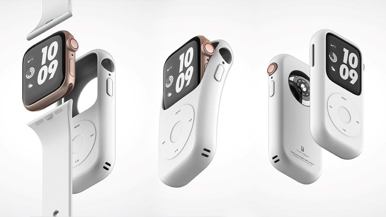 Turn your Apple Watch into an iPod! Pod Case Concept