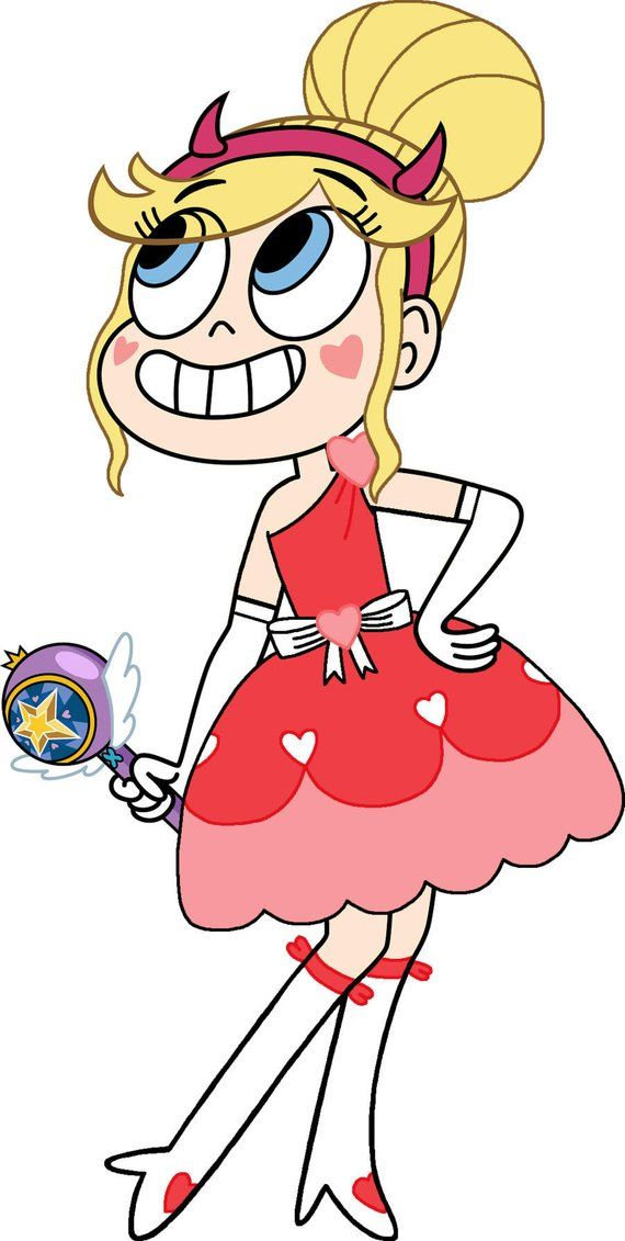 Star vs the forces of Evil, Blood Moon Ball Dress