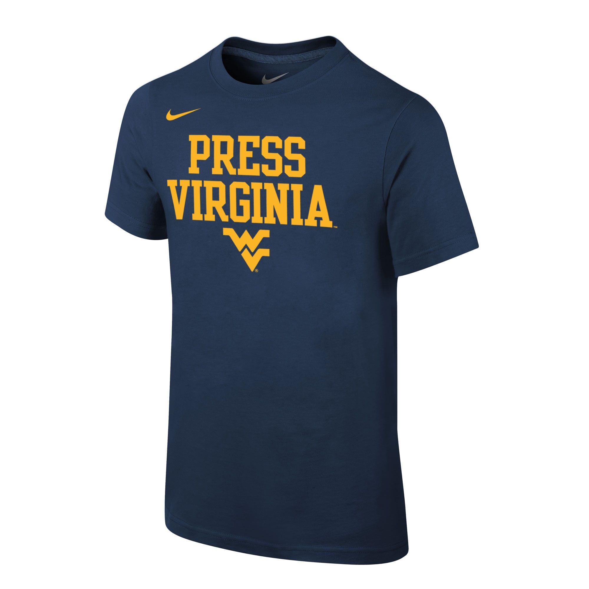 Astonishing Nike Youth Wvu Basketball Press Virginia Tee Wvu Creativecarmelina Interior Chair Design Creativecarmelinacom