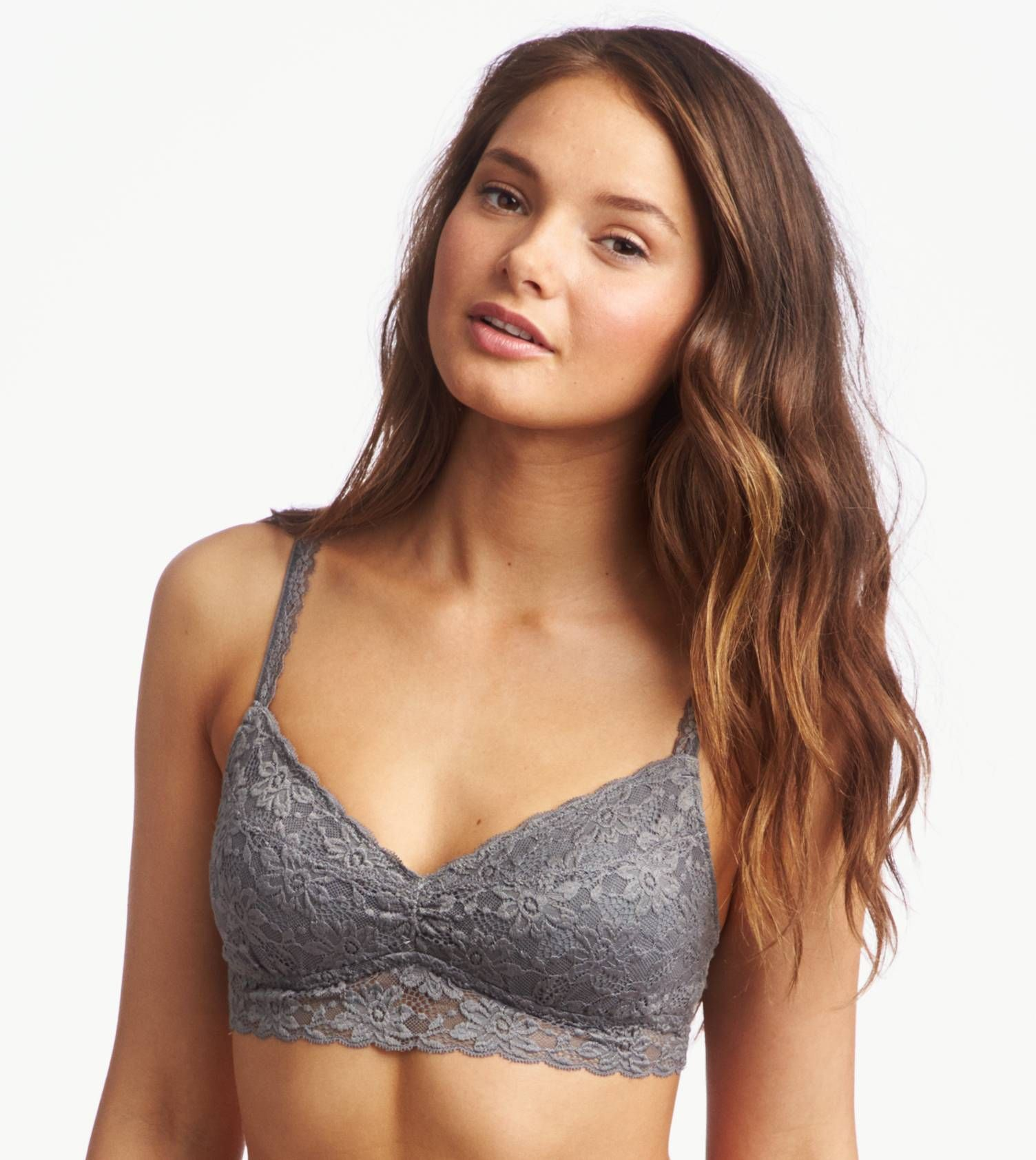 Aerie Boho Lace Halter Bralette | Clothes, American eagle ...
