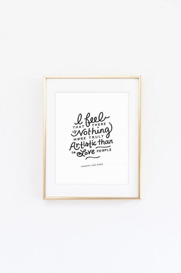 Love People Art Print | Imprimibles y Free