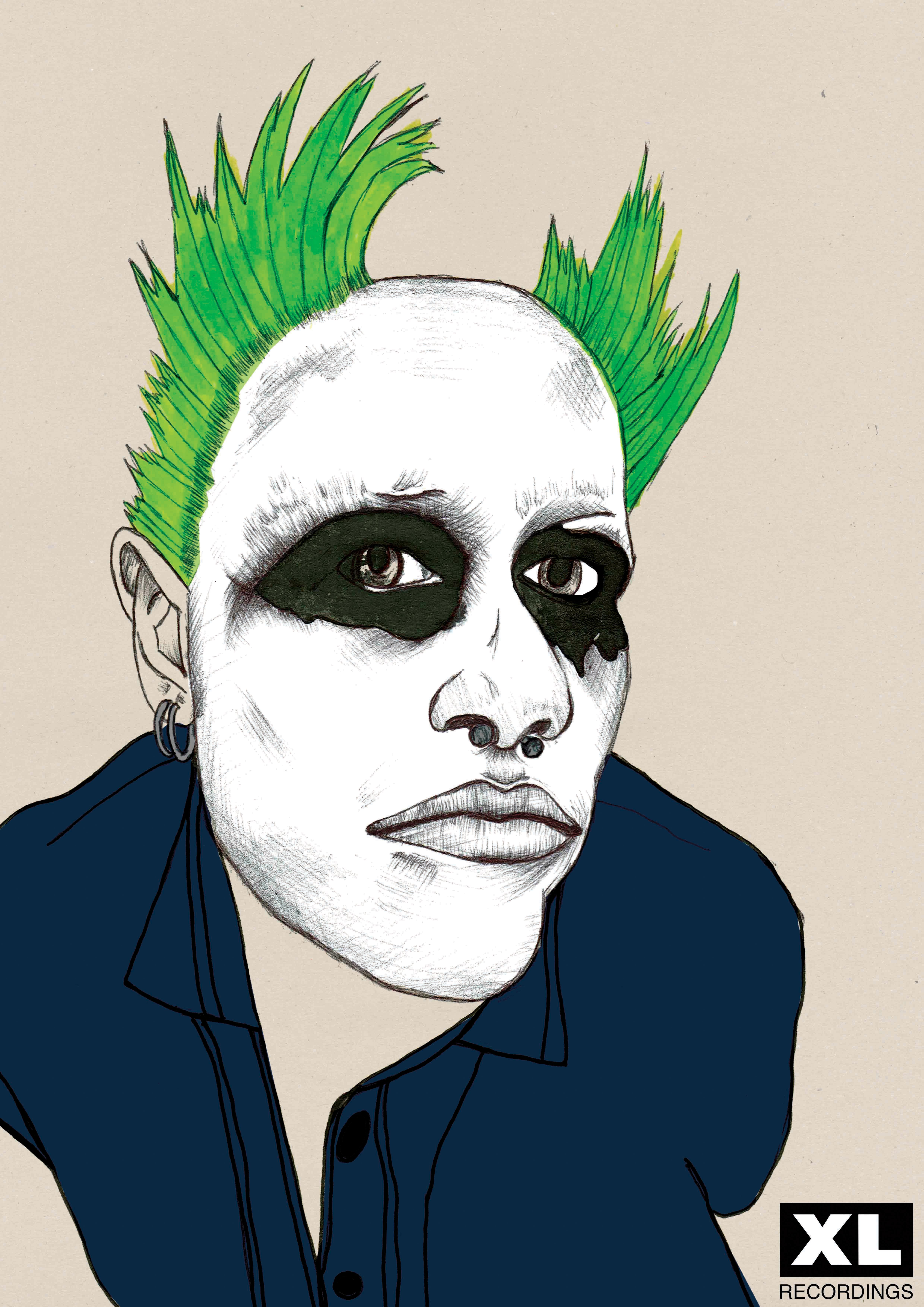 Keith flint the prodigy artwork fictional characters