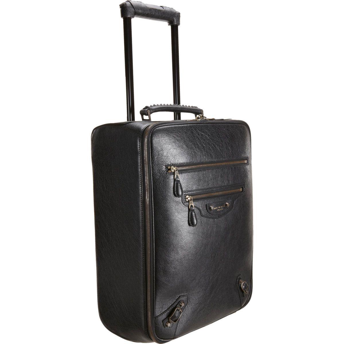 Balenciaga Voyage Carry On Trolley in Black  2780d356576ea