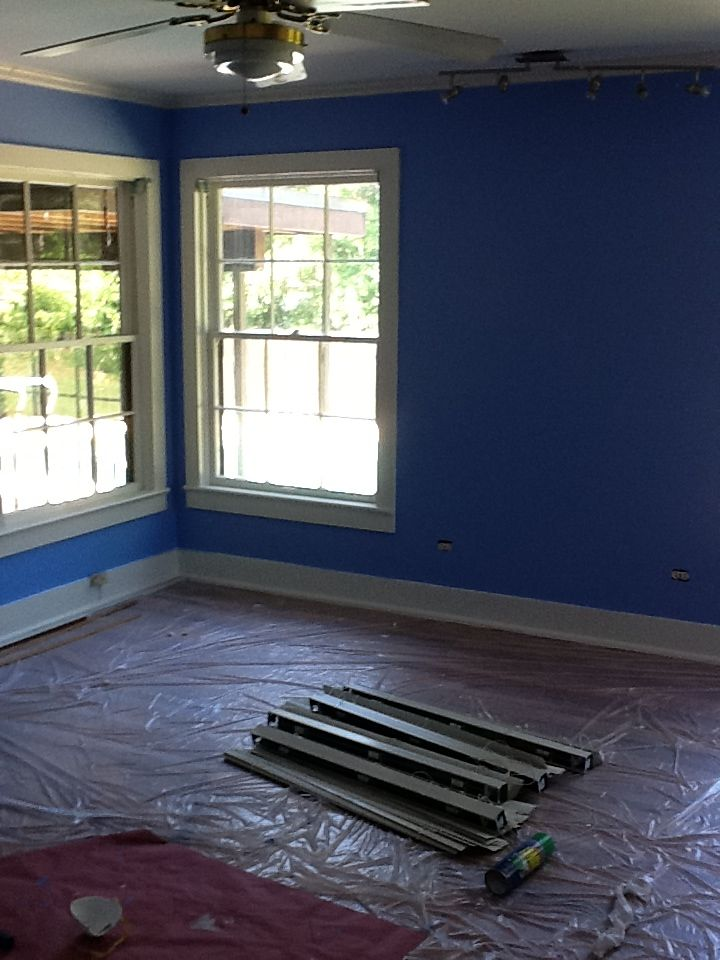 Master Bedroom Benjamin Moore Summer Blue Love It