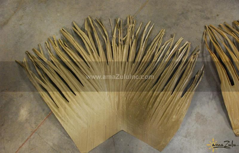 Rio Palm Thatch Synthetic Palm Thatch Panels Amazulu Thatch Paneling Thatched Roof