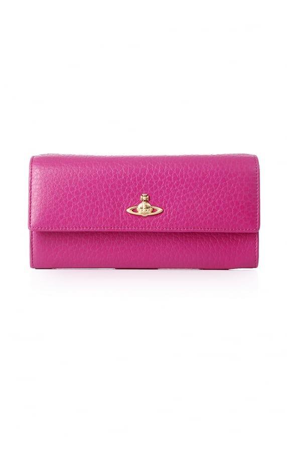 2804fa6797 Vivienne Westwood Bags long kensington flap front purse