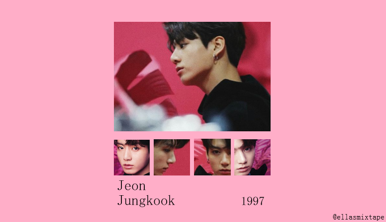 Jungkook Pink Aesthetic Wallpaper Background Landscape Desktop Laptop Aesthetic Wallpapers Pink Aesthetic Wallpaper Backgrounds