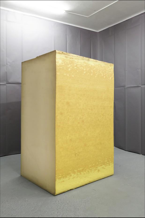 Park McArthur · Polyurethane Foam, 2015, Galerie Emanuel Layr