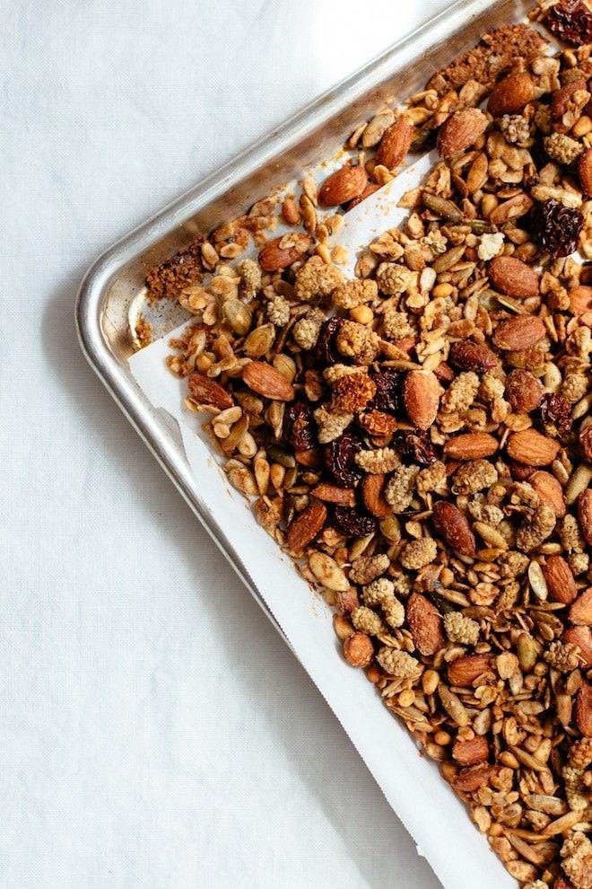 Honey Caraway Granola | Nutrition Stripped #glutenfree #recipe