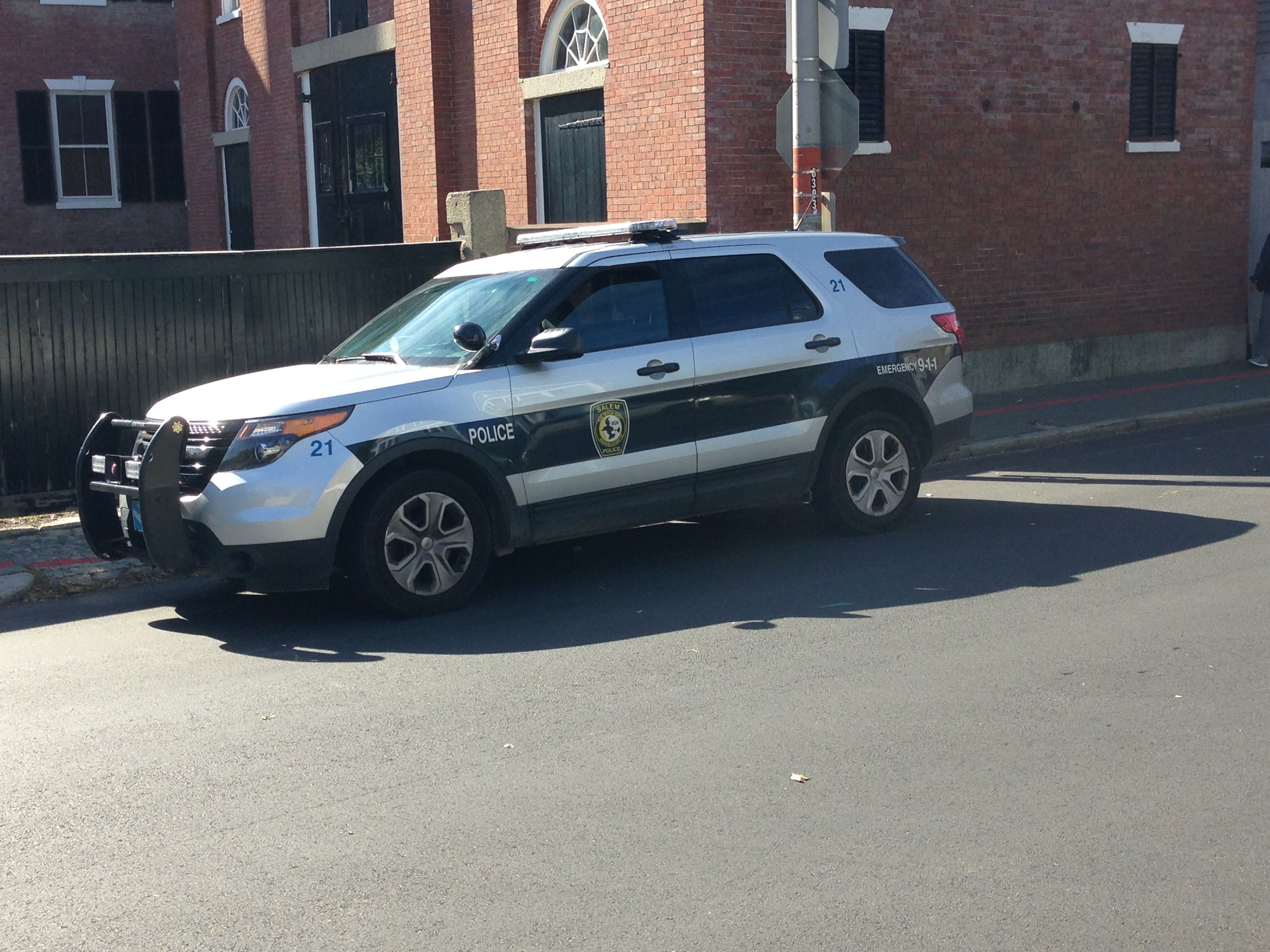 Salem Police Department Ford Police Interceptor Suv Massachusetts