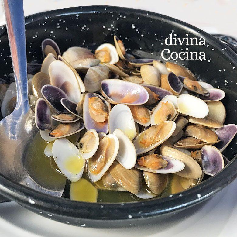 Coquinas Al Ajillo Ajo Divina Cocina Recetas