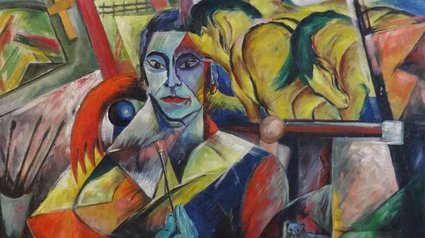"Beltracci, ""Portrait Franz Marc"" ala Campendonk | Art of ..."