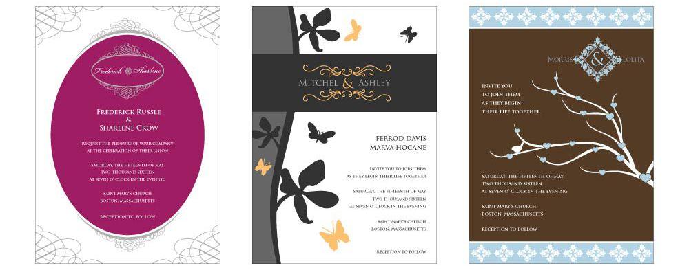 Wedding Card Designs Free Wedding Invitations Wedding