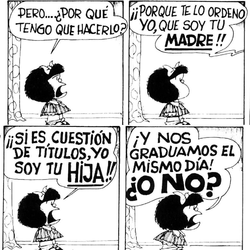 Instagram Photo By Vannwarhol May 10 2016 At 2 10pm Utc Mafalda Frases Chistes De Mafalda Imagenes De Mafalda