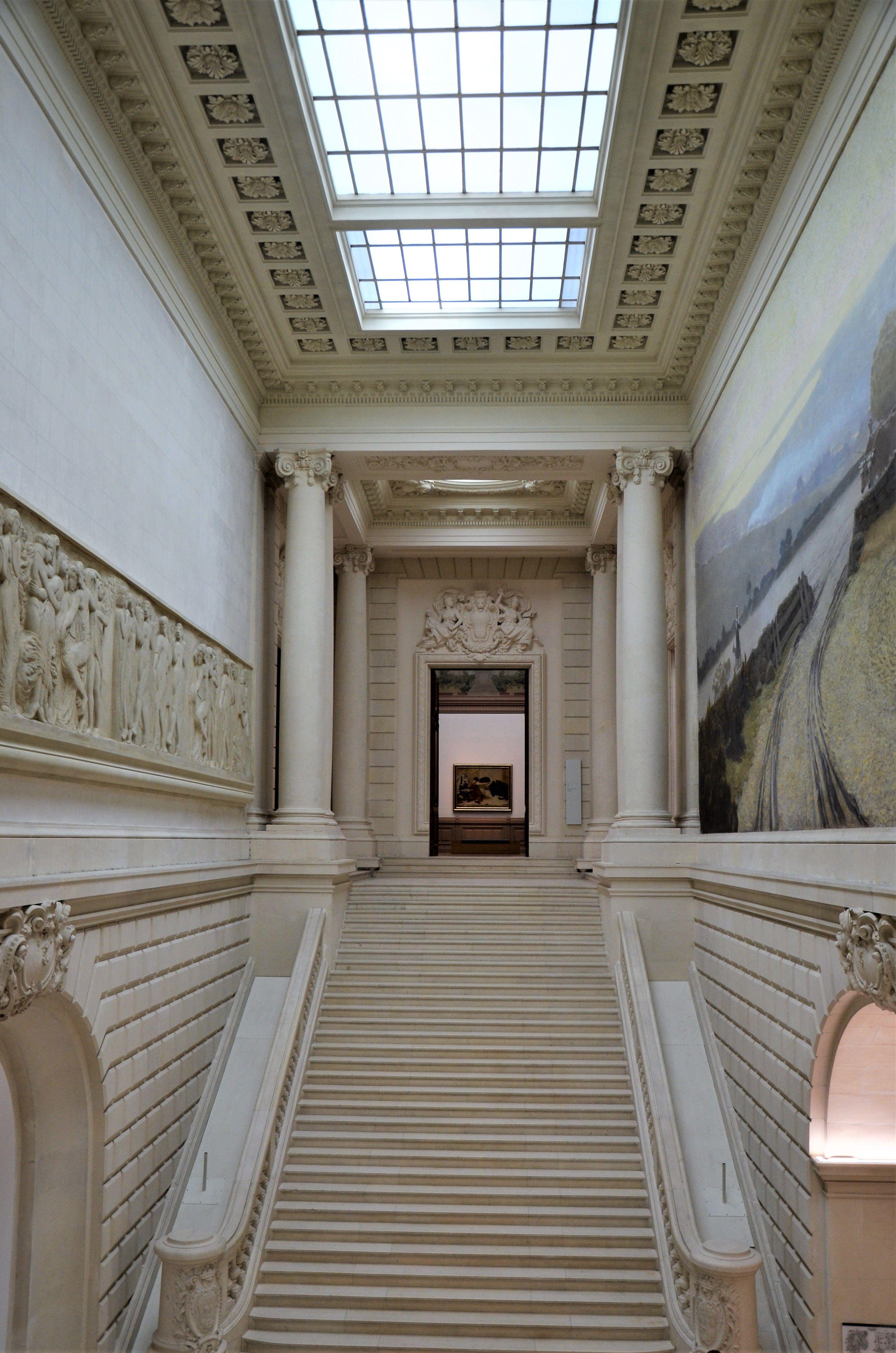 Grand Escalier Du Musee Des Beaux Arts De Nantes Photo Herve
