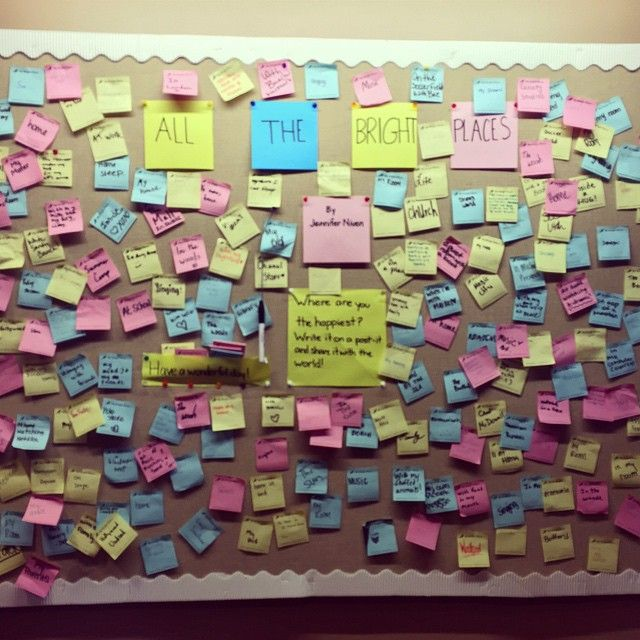 Bright Places from the students at Clarke Central High #AlltheBrightPlaces
