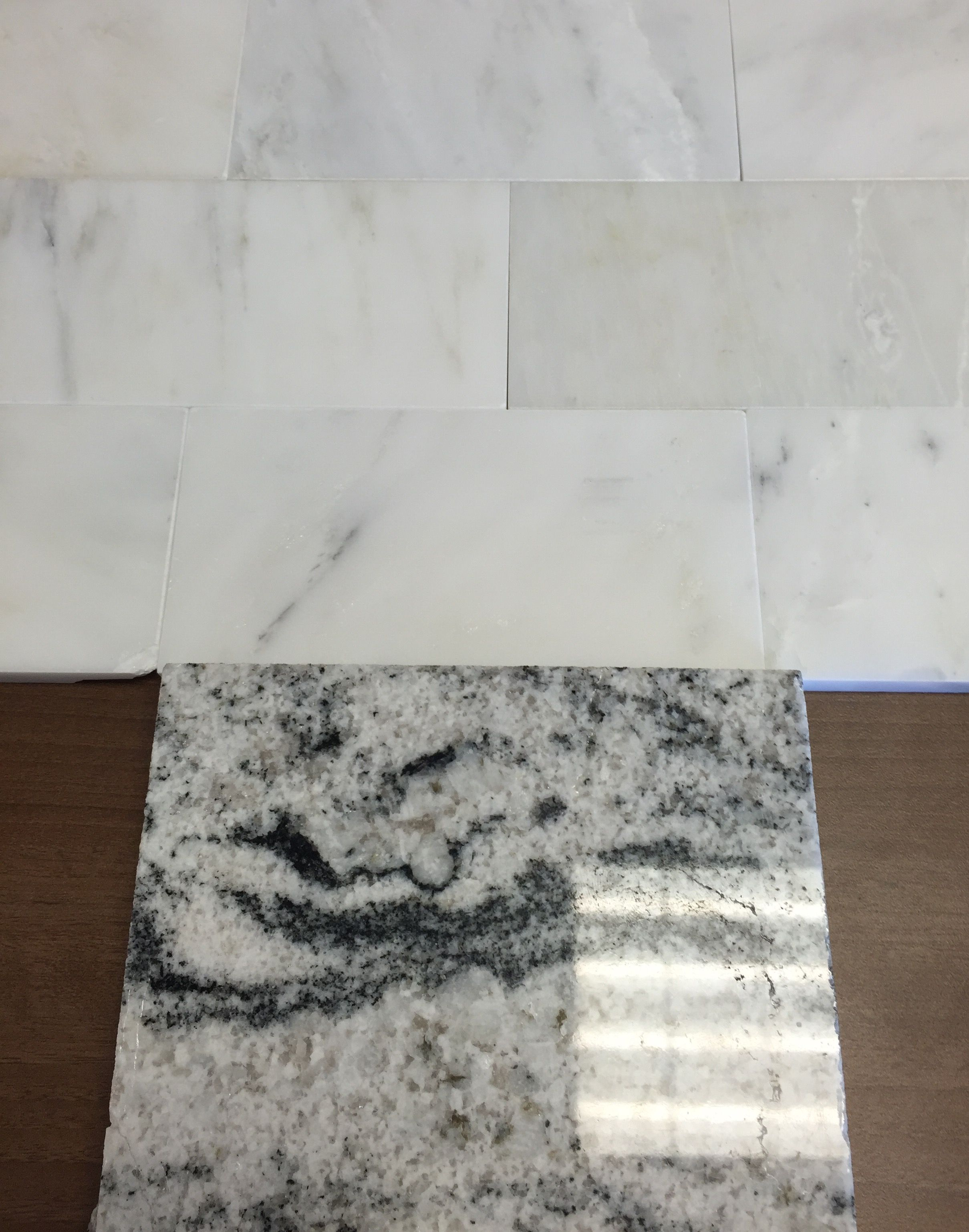 Honed Dynasty marble subway tiles for backsplash with Viscon White