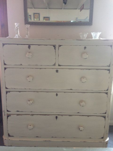VINTAGE CHEST OF DRAWERS  FOR SALE HERE AT LOVINGLY MADE www.lovinglymadeltd.co.uk