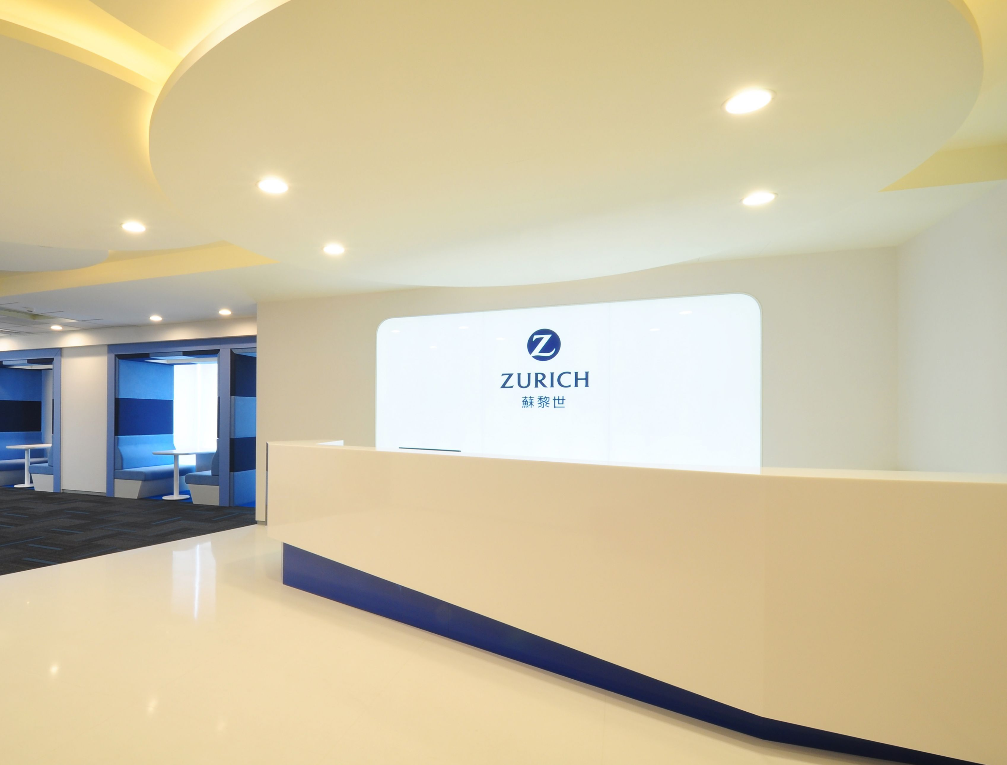 Zurich Insurance Group Taipei Taiwan Design And Build Office Design Project By The Steven Leach Group Zurich Insura Group Insurance Design Projects Zurich