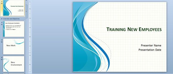 Training New Employees #Powerpoint #Template. The Template Is
